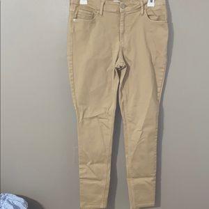 Old Navy Rockstar super skinny khaki jeans